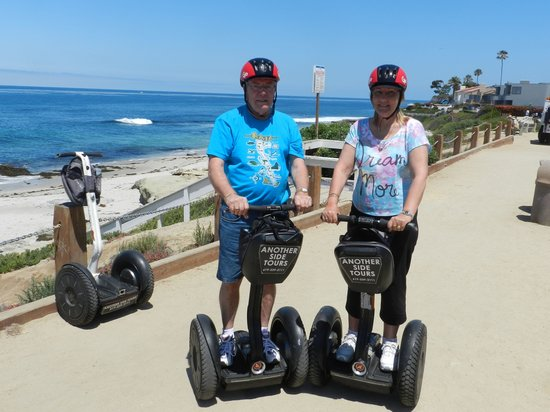 Another Side Of San Diego Tours : Tim and Michelle Cornelius (Australia)