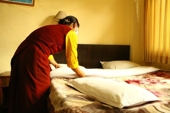 Shree Tibet Family Guest House: Deluxe Room