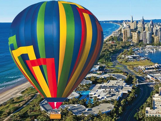 Hot Air Balloon Down Under