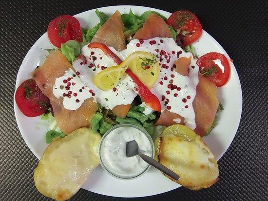 Le Bel Ete: La patate saumon
