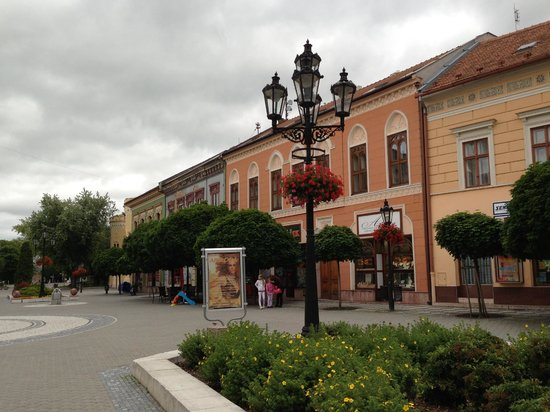 Komarno City Center - pedestrian area