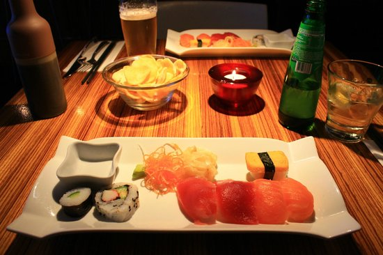 Ginger Asian Flavours : Sushi mix starter