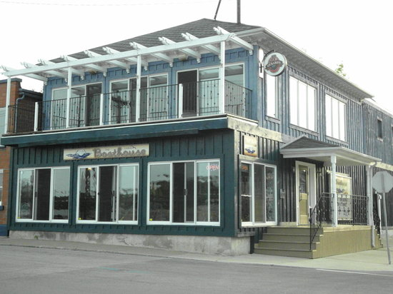 Port Colborne, Канада: The restaurant from outside
