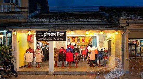 Tailor Phuong Nam : The Shop