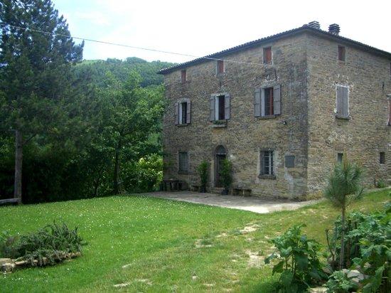 Palazzo in Zattaglia: Front of house