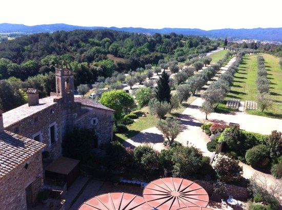 La Bisbal d'Empordà, España: Vue depuis la tour