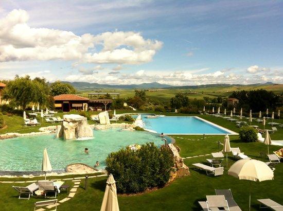 Le piscine picture of hotel adler thermae spa relax resort bagno vignoni tripadvisor - Bagno vignoni tripadvisor ...
