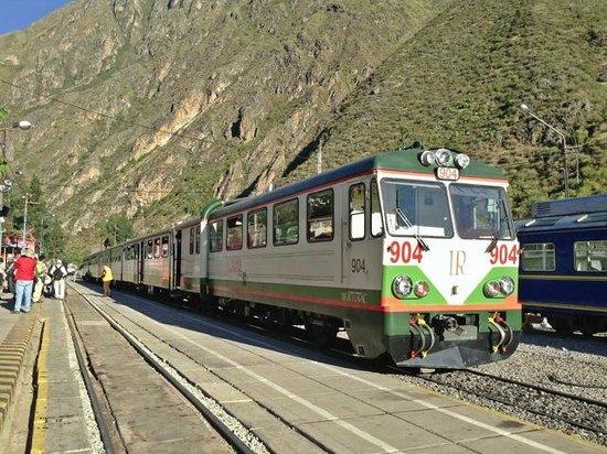 Inca Rail: オリャンタイタンボ
