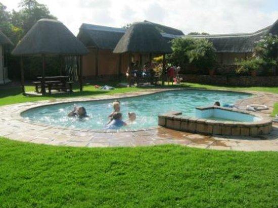 Swimming Pool Area Picture Of Green Fountain Farm Resort Port Alfred Tripadvisor
