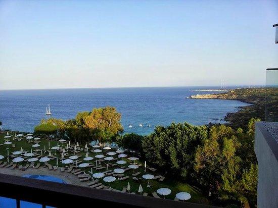 Grecian Park Hotel : panorama dal sushi risto.