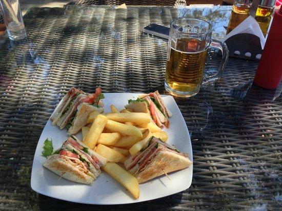 Nostos Hotel : Nostos Club Sandwich