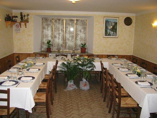 da creativo sala Rustica pranzo : nostra sala da pranzo: rustica e accogliente - Bild von Ristorante Da ...