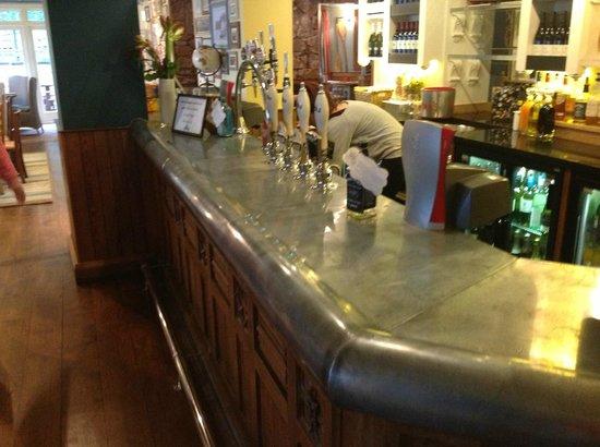 The Ness: Bar area
