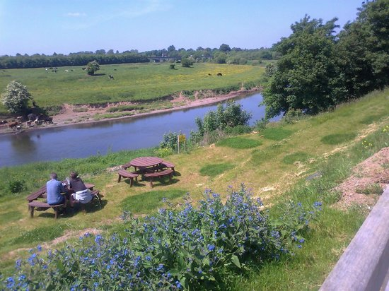 The Corbet Arms: River Severn