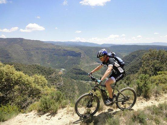 Verdebike: En e-bike sobre Santaliestra