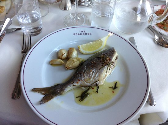 The Seahorse Restaurant: Sea Bream