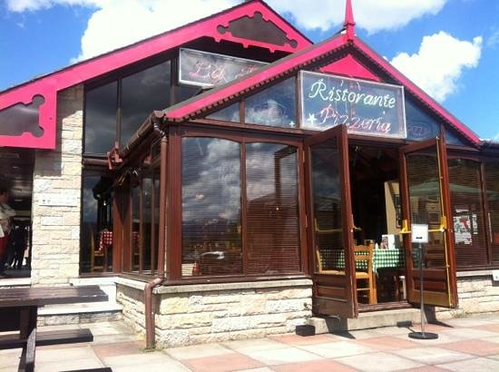 La Taverna: Terrace view