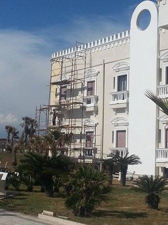 Le Ancore Hotel Resort: la facciata