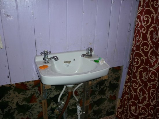 Veena Palace Group of Houseboats: Washbasin