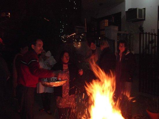 Aashiyan Bed & Breakfast: Lohri Celebration at Aashiyan