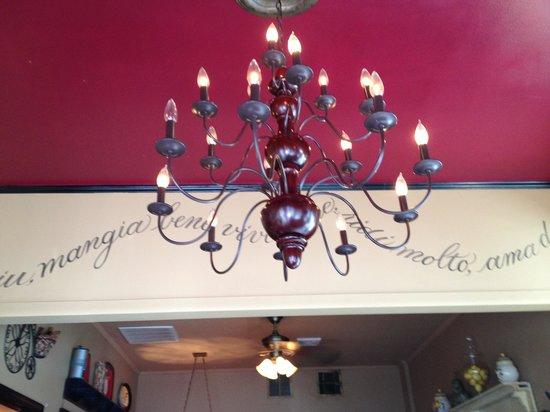 Lola & Guiseppe's Trattoria: Decor