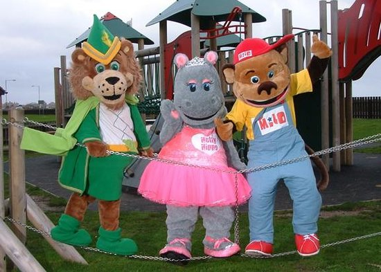 Lyons Robin Hood Holiday Park : Meet Leo, Milo and Hetty, our cuddly characters!