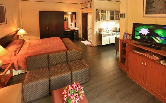 Bangkok Rama Hotel: Super Deluxe double bed cottage