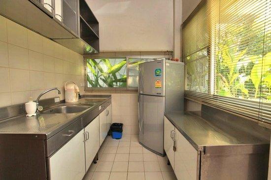Bangkok Rama Hotel: All cottage kitchenettes