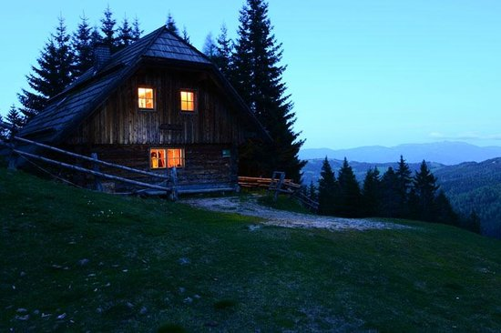 Bischofhütten: Panoramahütte