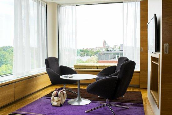 Scandic Alvik: Corner suite
