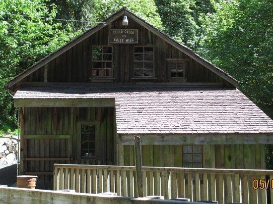 Cedar Creek Grist Mill: Cedar Crk Mill