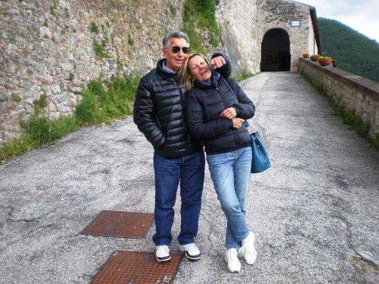 B&B La Terrazza del Castello: Porta d'ingresso a Castel San Felice