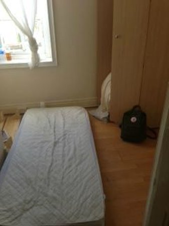 Zenith Hostel : The bed provided for a twin room.