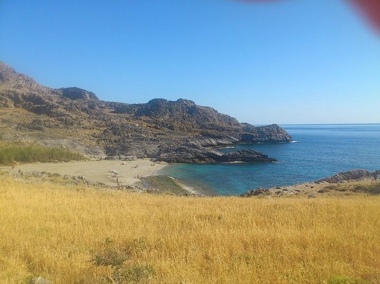 Hotel Irida Plakias: Skinaria Beach