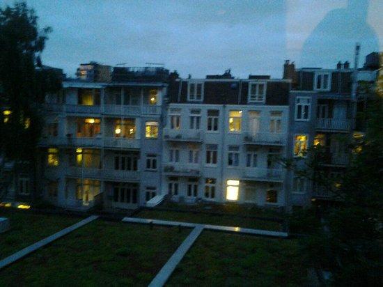 Hotel Abba: vista su lato interno da terrazzo