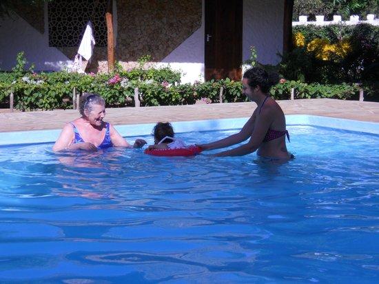 hotel Eco Lodge Jua Bahari: in piscina