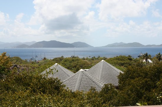 Guavaberry Spring Bay Vacation Homes: View from our huge balcony
