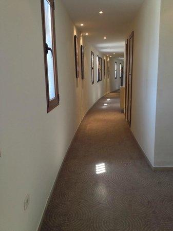 Scheherazade Hotel Sousse: Hallway