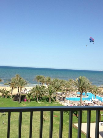 Scheherazade Hotel Sousse: View from room