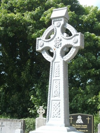 Dysert O Dea Church: keltisches Kreuz