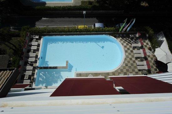 Hotel Friuli: vista della piscina