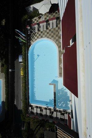 Hotel Friuli : vista della piscina