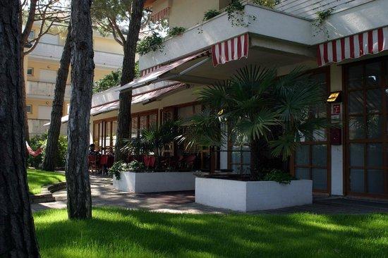 Hotel Friuli : ingresso dell'Hotel
