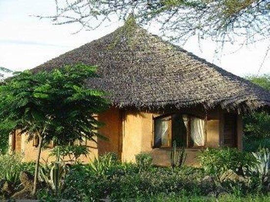 Kia Lodge – Kilimanjaro Airport: Room outsite
