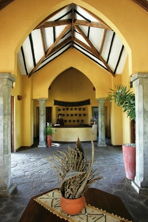 Kia Lodge – Kilimanjaro Airport: Receiption