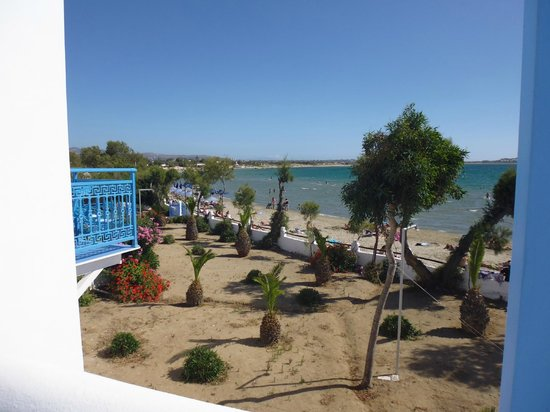 Hotel Asteria: View from balcony