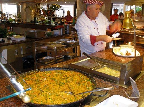 Spring Arona Gran Hotel: Live Cooking !!