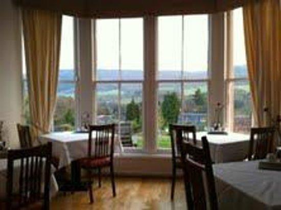 Beinn Bhracaigh: The breakfast room