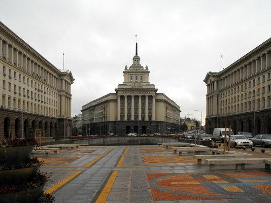 Former Bulgarian Communist Party Headquarters