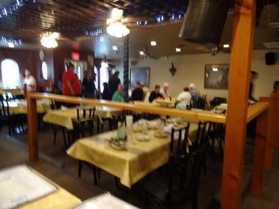 Greek Islands Restaurant INC : the inerior of the restaurant!